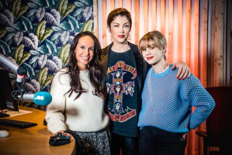 Ann Van Elsen, Kelly Pfaff en Shania Gooris
