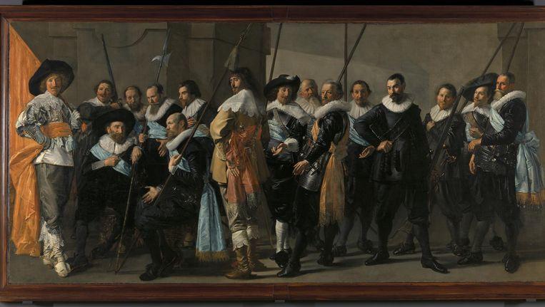 De Magere Compagnie (1637) Beeld Rijksmuseum
