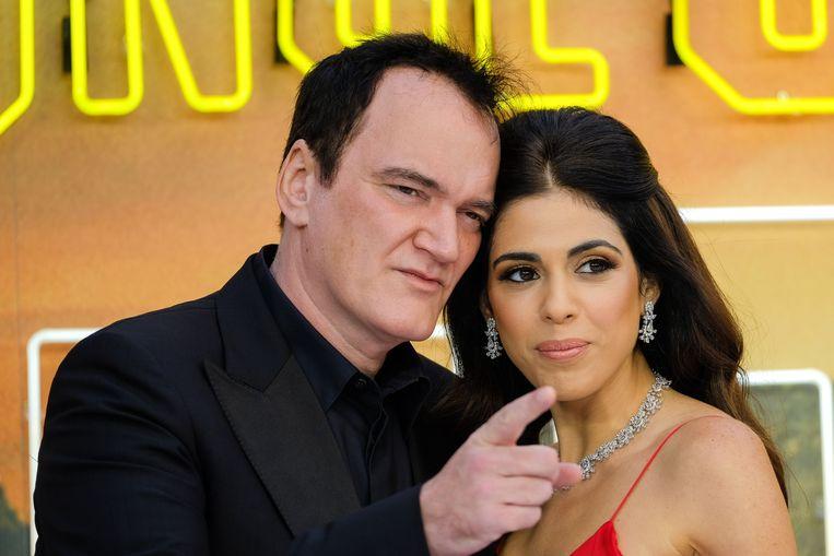 Quentin Tarantino en zijn vrouw Daniela Pick.