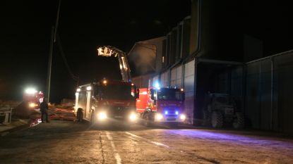 Zware brand bij landbouwbedrijf in Ruiselede