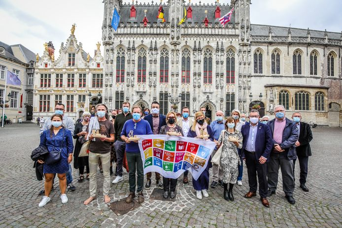 Duurzame helden in Brugge.