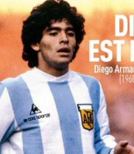 """Dieu est mort"": la presse internationale salue la mémoire de Maradona"