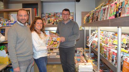 """Dieter en Heidi nemen na 30 jaar afscheid van dagbladhandel Bib: """"Toch wel al wat traantjes gelaten"""""""