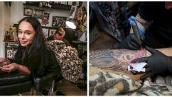 EXCLUSIEF: 'Temptation'-Zwanetta laat pauwveer tatoeëren op achterkant bil