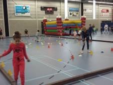 Snuffelen aan diverse takken van sport tijdens de Kidsdagen in Zierikzee
