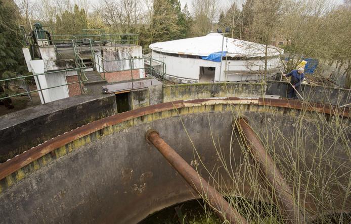 Overzicht van de bouwactiviteiten tbv het ontmoetingscentrum Kronenkamp in de voormalige waterzuivering.