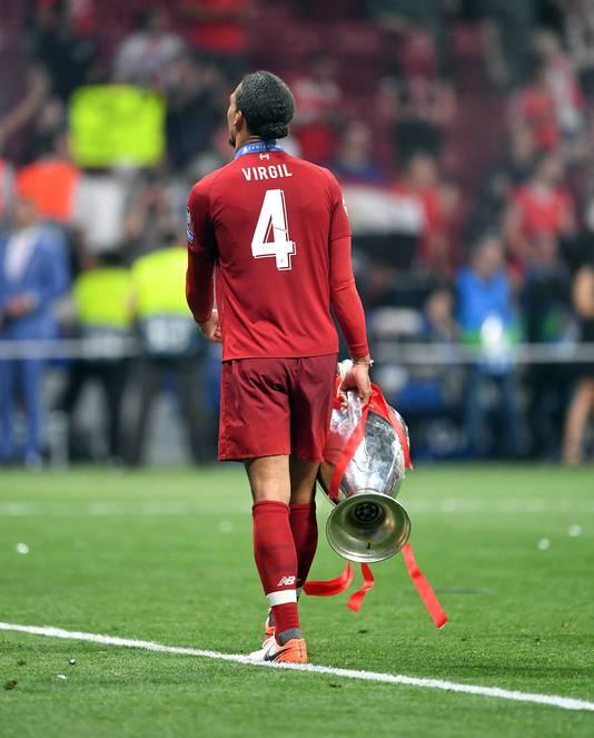 Virgil van Dijk veroverde afgelopen seizoen in Madrid de Champions League.