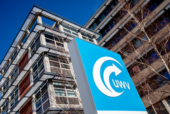 Het UWV in Den Haag.