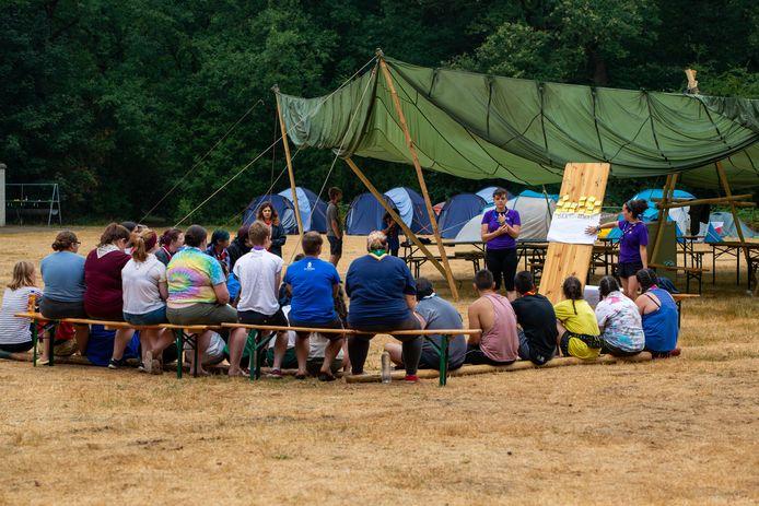 Ommen - Scouting   Leden van de scouting komen uit alle windstreken om bij Ada's hoeve in Ommen diverse spellen en workshops te spelen.