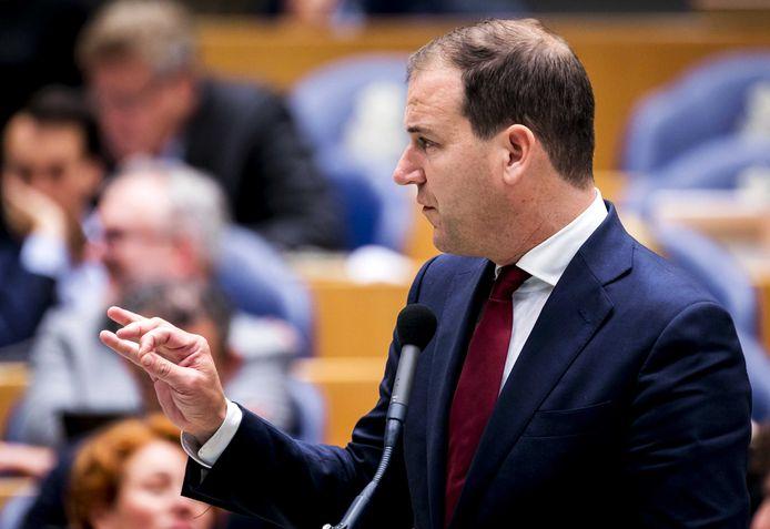 Lodewijk Asscher (PvdA) tijdens de tweede dag van de Algemene Politieke Beschouwingen.