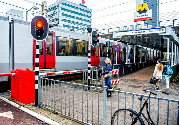 Pendelbussen Op Twee Metroloze Dagen In Rotterdam Oost Rotterdam