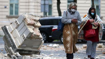 Tientallen gewonden en veel schade na zware aardbeving in hoofdstad Kroatië