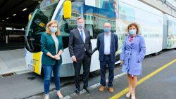 Ringtrambussen nemen officieel lijn 820 over: eerste realisatie Brabantnet is hiermee een feit