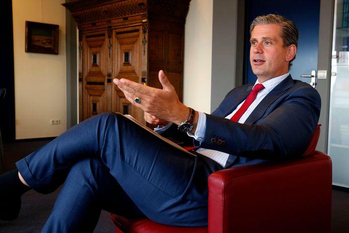 Burgemeester Wouter Kolff.