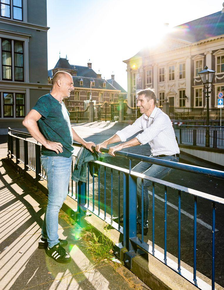 Leo en Paul Blokhuis Beeld Jiri Büller