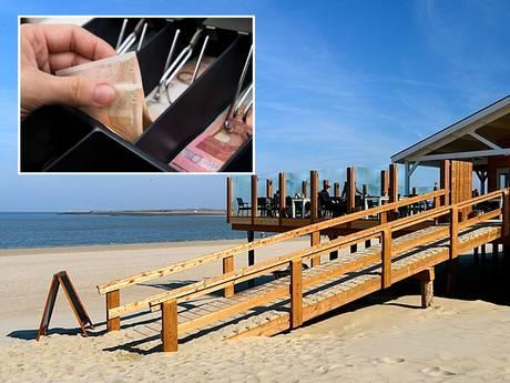 Duitse toeriste rooft kassa van Zeeuws strandpaviljoen op 'laatste' zomerdag