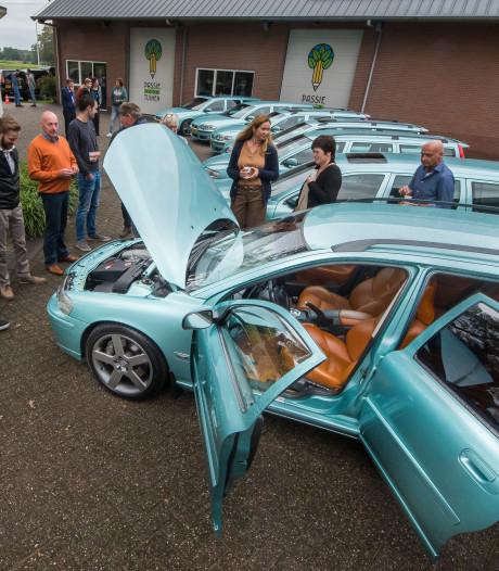 Volvo-freaks delen passie voor V70R in metallic groen in Enschede