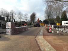 Dorpsplein Riethoven bijna klaar