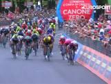 Samenvatting van de dertiende etappe van de Giro