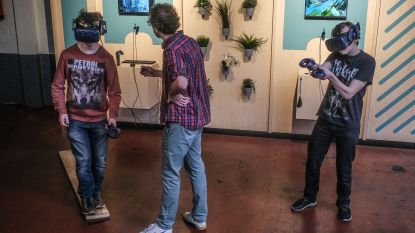 Eerste spelers in virtual Reality-speelhal The Park