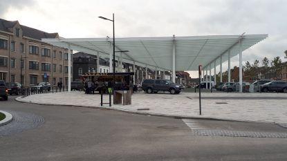 Werken Marktplein en Gentsestraat in Zonnegem