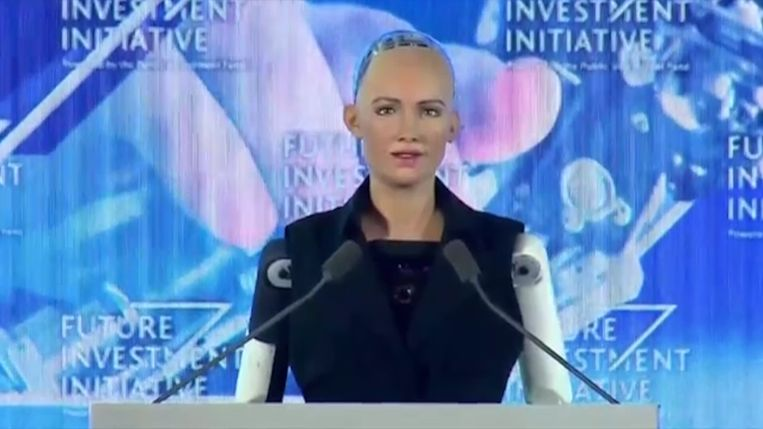 Saoedi-Arabië is het eerste land dat staatsburgerschap geeft aan een robot.