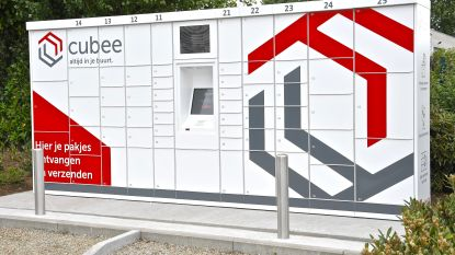 Sinds kort staat een Cubee-pakjesautomaat op bedrijventerrein Grensland