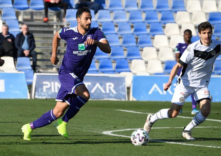 Nacer Chadli was met een dertiende plek de eerste Anderlecht-speler in de uitslag.