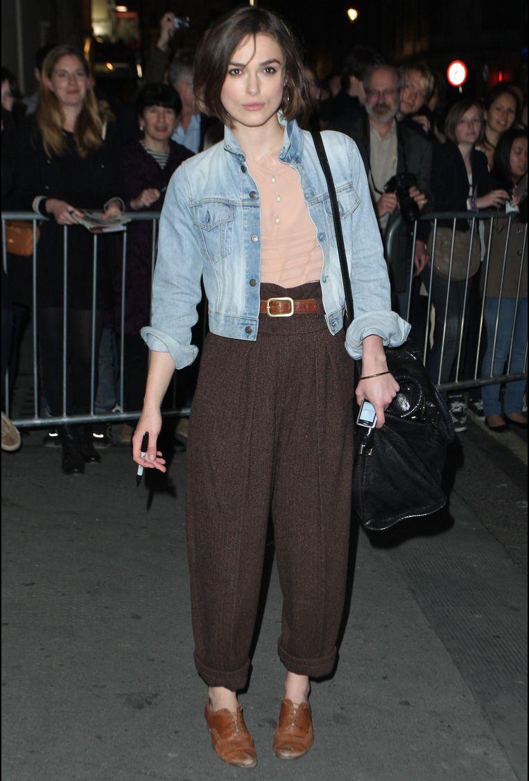 Een wijde broek is veel comfortabeler