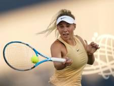 Talent Anisimova meldt zich af voor US Open na plotseling overlijden vader