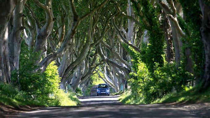 Noord-Ierland sluit razend populaire Game of Thrones-weg af