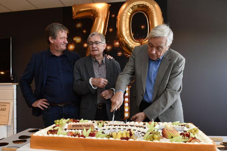 De schoenenretailer bestaat 70 jaar en dat werd vandaag in Temse gevierd, met onder meer Karel en Herman Torfs.