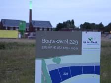 Minder woningen voor Eibergse nieuwbouwwijk Op de Bleek