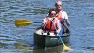 Vlaams ministers Ben Weyts en Lydia Peeters openen peddelend nieuwe route op de Demer