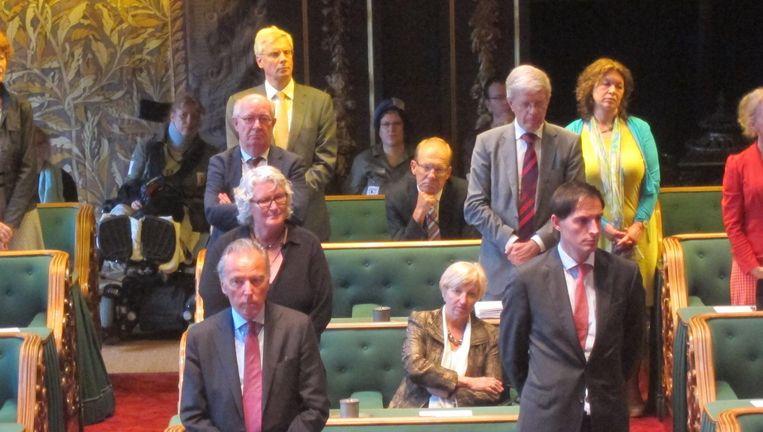 Na de ja-stem van CDA-senatoren... Beeld