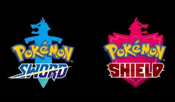 De twee nieuwe Pokémon-games 'Pokémon Sword' en 'Pokémon Shield'.