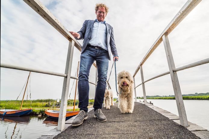 Burgemeester Arnoud Rodenburg van Midden-Delfland.