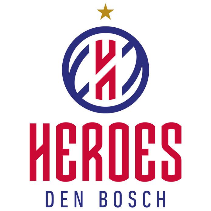 Het nieuwe clublogo van Heroes Den Bosch.