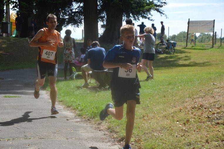 De eerste editie lokte al onmiddellijk veel joggers en wandelaars.