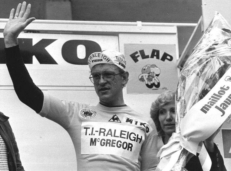 Gerrie Kneteman in de Tour de France van 1979. Beeld EPA