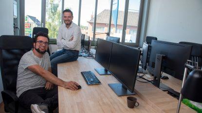 Twee ondernemers openen met Buro Lesco coworkingplek op site van stokerij Rubbens