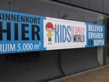 Streep door Kids Family World op woonboulevard Almelo, maar Top1Toys komt wel