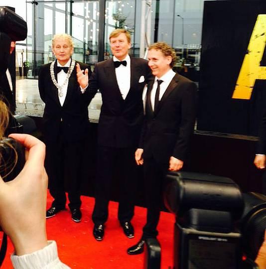 Aankomst van Koning Willem-Alexander.