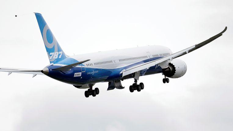Een Boeing 787 Dreamliner. Beeld AP