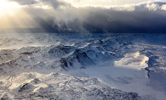 Archiefbeeld: sneeuw in IJsland
