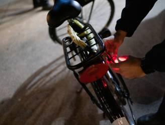 Vier fietsers op totaal van 182 niet in orde met verlichting