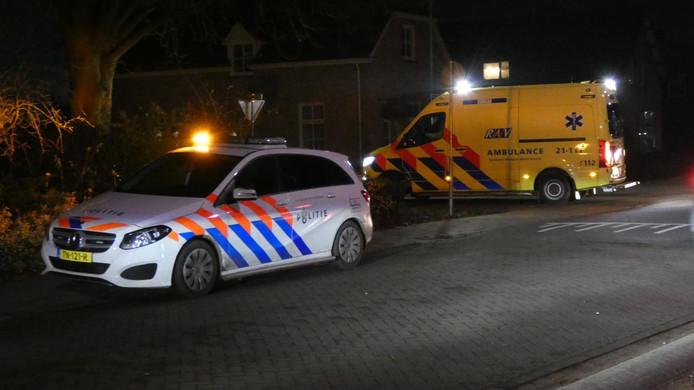 Fietser gewond bij aanrijding in Berghem.
