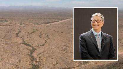 Bill Gates wil slimme stad in woestijn van Arizona bouwen
