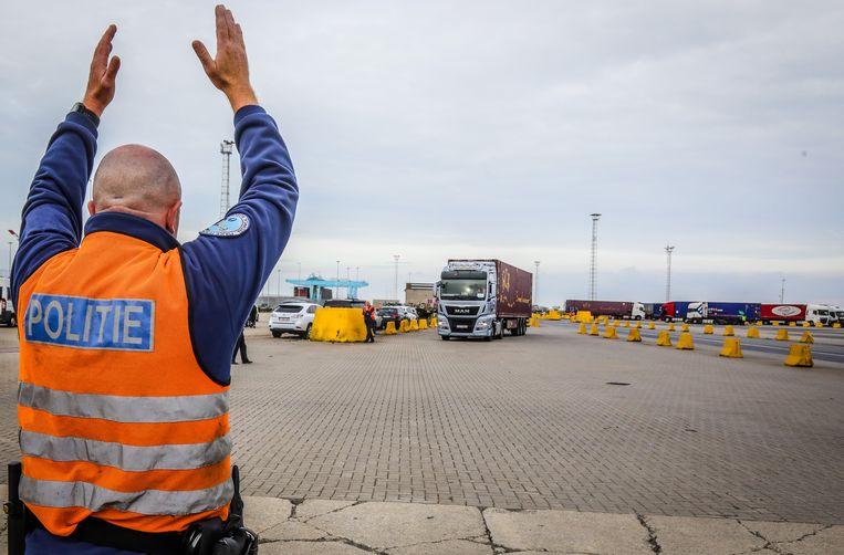 De transportfirma's werkten vanuit Zeebrugge. (illustratiebeeld)