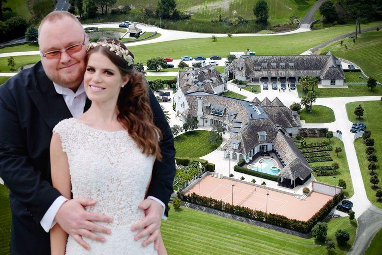 Kim Dotcom, in Duitsland geboren als Kim Schmidz, was voor 68 procent eigenaar van MegaUpload.